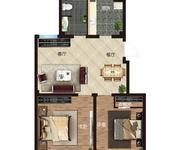 D3#2-A1两室两厅一卫83.62㎡