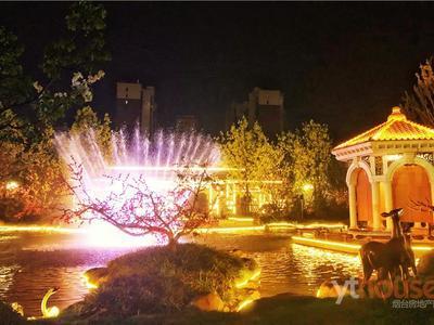 莱山恒大御山华府百亩园林位置优越单价11300起精装修 精装修自带喷泉景观