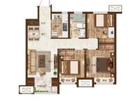 高新区 小中高三学区 单价低 大小面积三室 户型优越