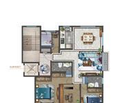 华光四室两厅两卫142.54㎡