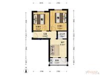 南通路小学 二中 三楼 96.8万 两室一厅 南北通透 看房方便