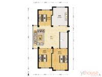 三和星海花园 129平 打头三室 满五一套房 没有费用
