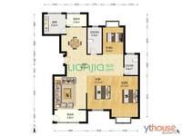 低价出售海晟花苑4室2厅2卫147.2平米152万住宅