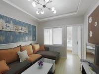南沟街3楼一中南山路通透2室可做3室精装未住使用面积大采光好