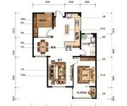 92㎡两室两厅一卫2